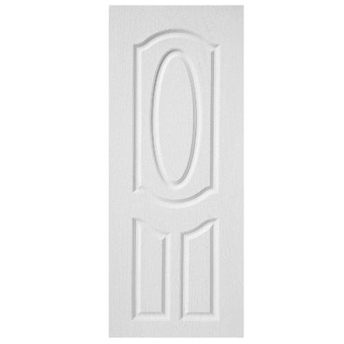 BWOOD ประตู VINYL บานทึบลูกฟัก ผิว REVO  Eco series ขนาด 80x200ซม.  (เจาะ) BENR004 สีขาว