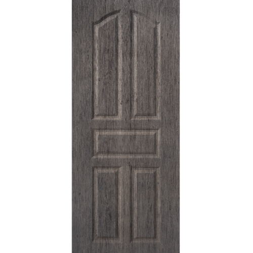 BWOOD  ประตูยูพีวีซี Eco series ขนาด 70x200ซม. GREY OAK เจาะ  LBENR001 (ผิวลายไม้) สีเทา