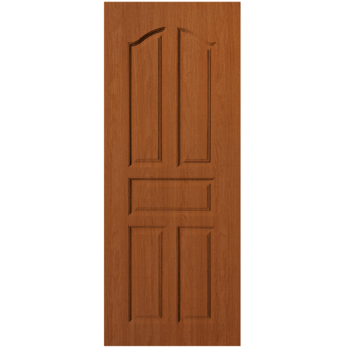 BWOOD ประตู  VINYL  Bwood Eco series  90x200  ผิว REVO ORANGE TEAK ไม่ เจาะ     LBENR001