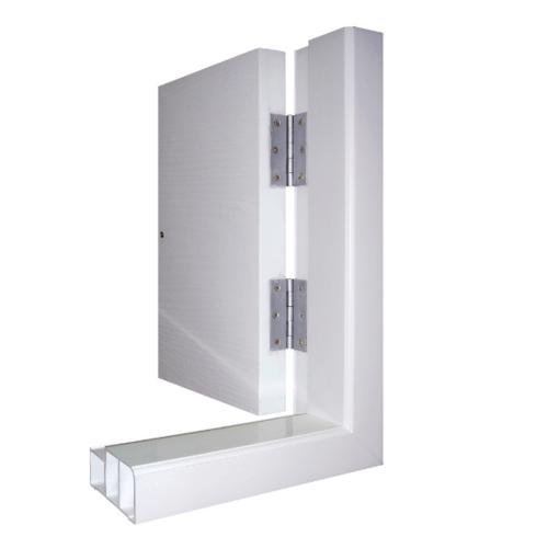 Masterwood วงกบประตู  ขนาด90x200 cm. VINYL  สีขาว