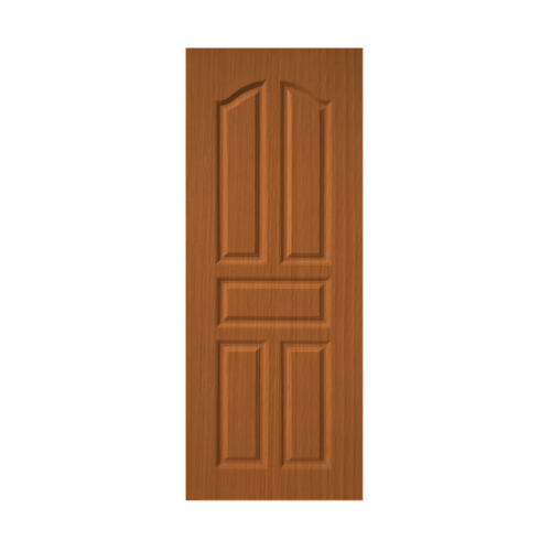 BWOOD ประตู VINYL ECO-Series ขนาด 90x200 ซม.ORANGE TEAK เจาะ LBEN001