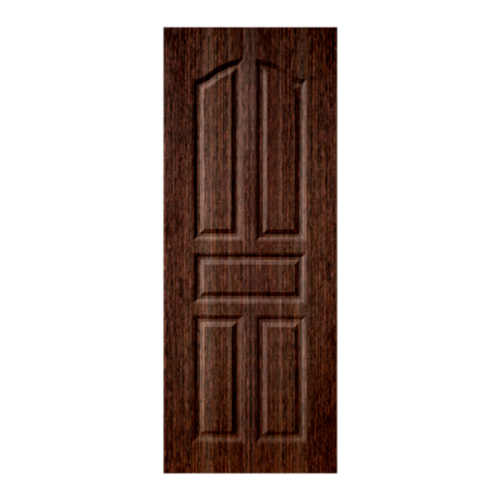 BWOOD ประตู VINYL ECO-Series ขนาด 90x200ซม. BROWN WENGE เจาะ LBEN001