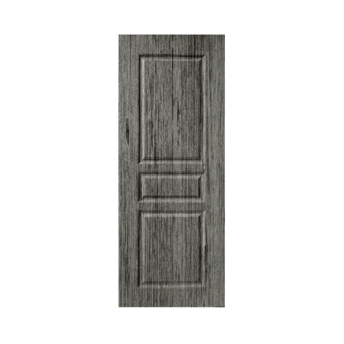 BWOOD ประตู VINYL ECO- เจาะ Series LBEN002 80x200 GREY OAK  สีเทา