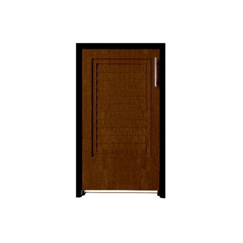 Polywood บานถังแก๊ส ขนาด 45.5x75.5x10 cm. สีโอ๊ค ABS M-SERIES