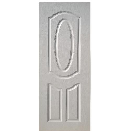 BWOOD ประตู บานทึบ ขนาด 70x200 ซม.เจาะ Eco-Series4 สีขาว