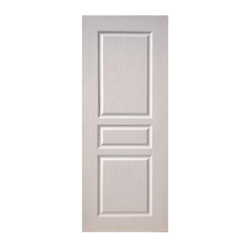 BWOOD ประตู VINYL Eco series ขนาด 90x200 ซม  เจาะ BEN002 สีขาว