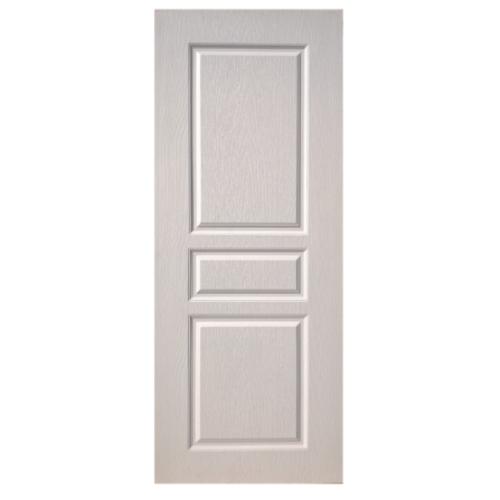 BWOOD ประตู VINYL Eco-Series ขนาด 90x200 ซม. ไม่เจาะ     BEN002 สีขาว