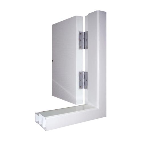 Masterwood วงกบประตู  ขนาด 90x200 cm. VINYL PW สีขาว