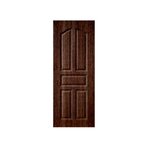 BWOOD ประตู VINYL  ECO-Series ขนาด70x200ซม. BROWN WENGE เจาะ  LBEN001