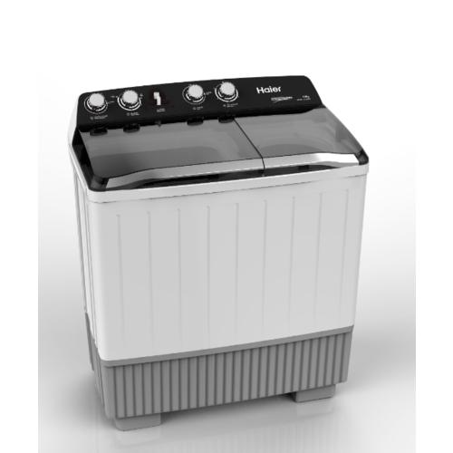 Haier เครื่องซักผ้า 2 ถัง กึ่งอัตโนมัติ 12 กก. HWM-T120 OXI สีเทาอ่อน