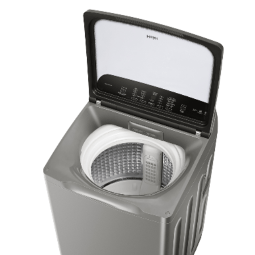 HAIER เครื่องซักผ้าฝาบน 12 Kg  Top Load Fully Automatic HWM120-1701RS Self-Cleaning  สีดำ