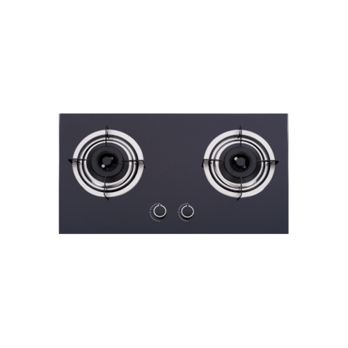 Haier เตาแก๊สแบบฝังหน้ากระจก 2 หัวเตา HGH732K-B2 สีดำ