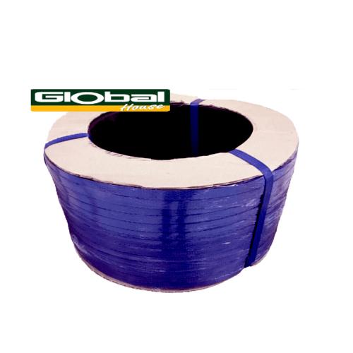 Global house สายรัดพลาสติก PP (7กิโลกรัม/ม้วน) -   สีน้ำเงิน
