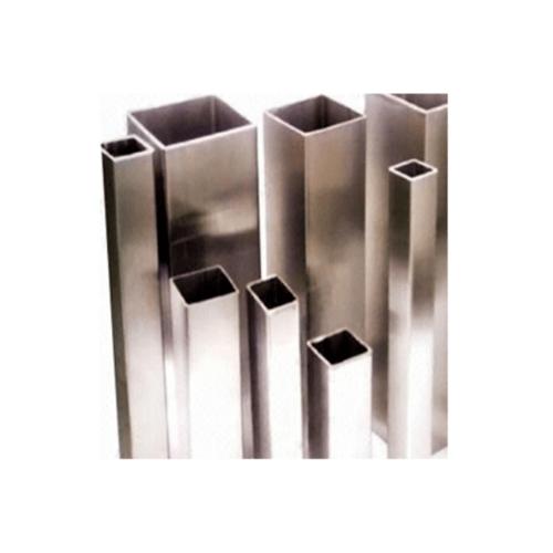 TCJ ท่อกล่องสแตนเลส 304 (18-8) 19 x 19 x 1.0 x 6000 mm : H/L  A-554