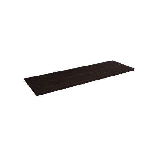 Delicato แผ่นชั้นไม้เมลามีน ขนาด 30X80X1.8cm. WANGE