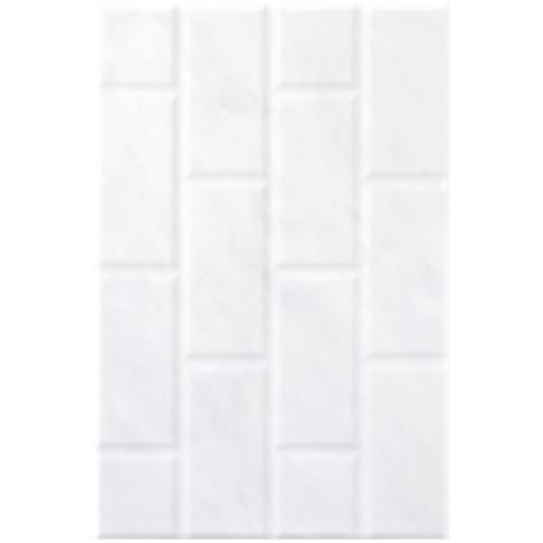 Cotto WT 12X18 อิงลิชการ์เด้น มาร์เบิล-บริค A. PM -  สีขาว