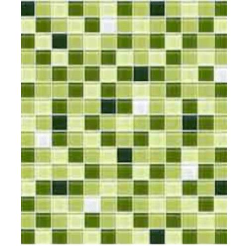 Cotto โมเสค 12x12  กลาส เบลนด์ 05  A. สีเขียว