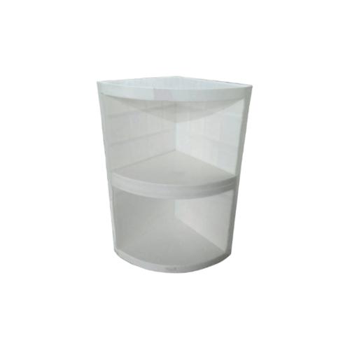 CLOSE ชั้นแขวนเสริมเข้ามุม Blanco 10 สีขาว
