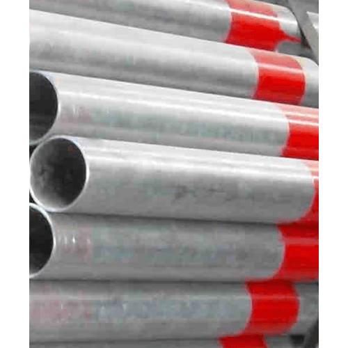 SYS ท่อประปาเหล็ก4นิ้ว S  หนา 5.4มม. ชุปเกาวไนท์ สีแดง