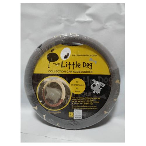 The Little Dog หุ้มพวงมาลัยลิตเติ้ลด๊อก The Little Dog สีเทา