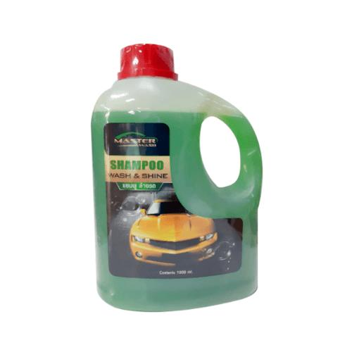 MASTER WASH แชมพูล้างรถ 1000 มล. สีเขียว MASTER WASH  สีเขียว