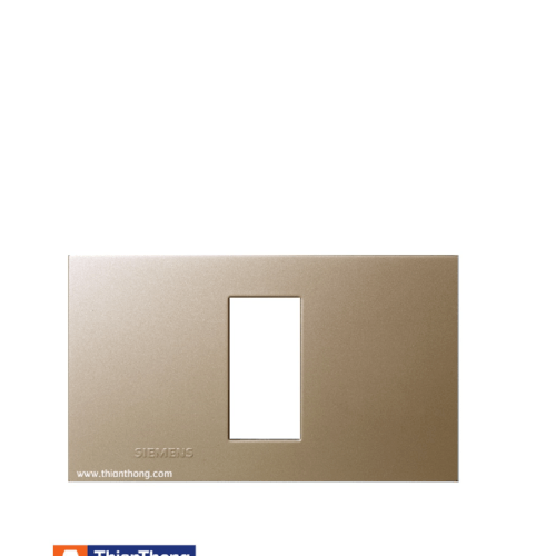 SIEMENS หน้ากาก 1 ช่อง Cover Plate (Champagne) สีทอง