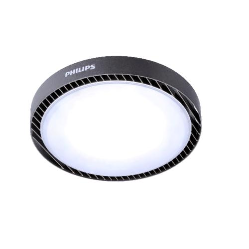 PHILIPS โคม Highbay BY239 100W แสงขาว BY239P สีดำ