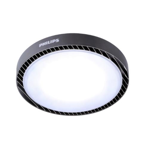 PHILIPS  โคมไฟไฮเบย์แอลอีดี  BY239 62W แสงขาว สีดำ