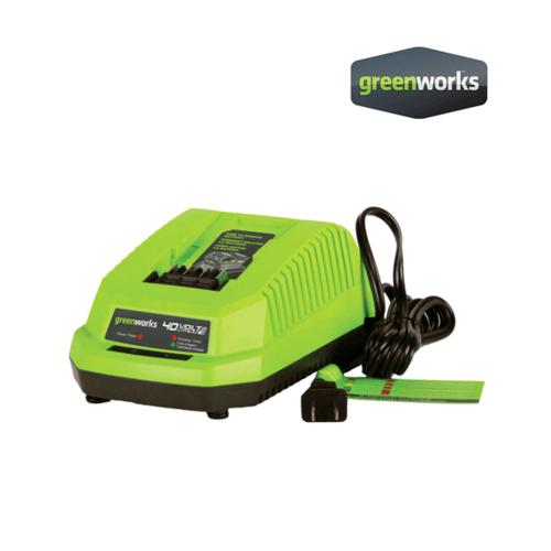 GREENWORKS เครื่องเล็มพุ่มไม้ ขนาด 40V พร้อมแบตเตอรี่และแท่นชาร์จ GWS0006