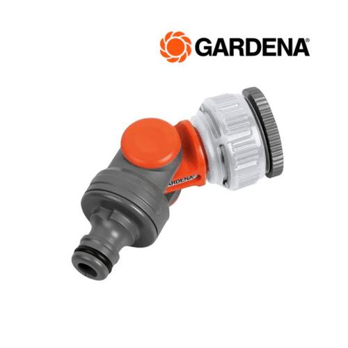 GARDENA ข้อต่อก๊อกน้ำแบบปรับทิศทางได้  ขนาด 1″ – 3/4″