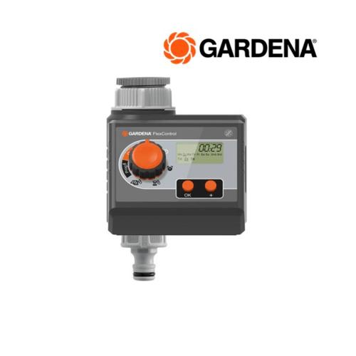 GARDENA วาวล์ควบคุมน้ำแบบใช้ถ่าน 9 โวลต์ สำหรับต่อกับก๊อกน้ำ  01883-20