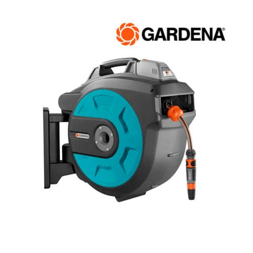 GARDENA  ที่เก็บสายยางแบบอัตโนมัติโดยใช้แบตเตอรี่ พร้อมสายยาง 35ม.  08025-20