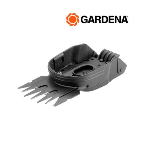 GARDENA  เครื่องเล็มพุ่มไม้+เล็มหญ้าแบตเตอรี่  08887-20