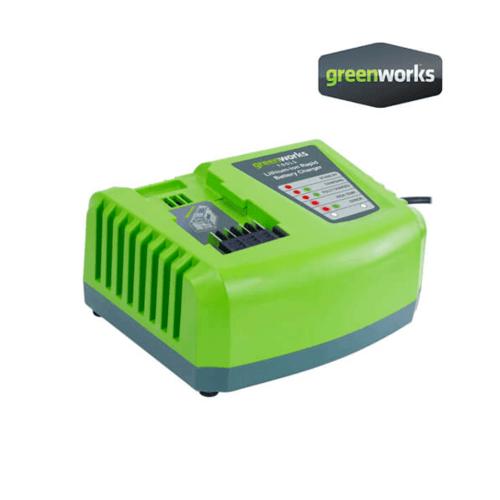 GREENWORKS แท่นชาร์จเร็ว  ขนาด 40V สีเขียว