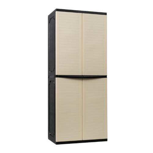 OPTIMUS  ตู้เก็บของอเนกประสงค์ 76x46x185 SPC-12 สีเบจ