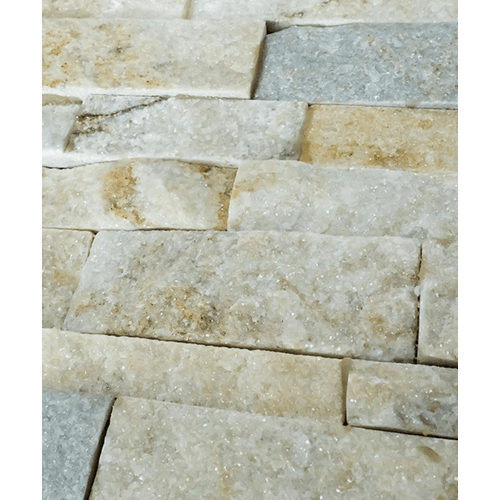 หินธรรมชาติ  หินกาบจิ๊กซอโกล ควอตซ์  7x30  NSD-GSE-020-0730