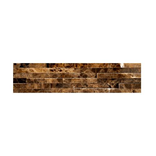 หินธรรมชาติ 6x30 หินอ่อนจิ๊กซอ ดาร์กเอ็มเพอราโด้  NSD-MOA-004-0630