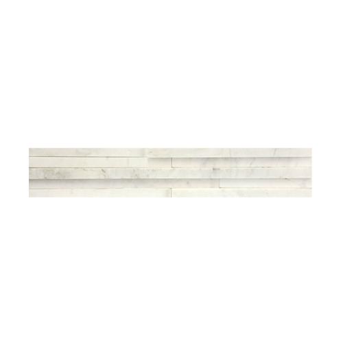 หินธรรมชาติ 10x59 หินอ่อนจิ๊กซอ ไวท์วีนัส   NSD-MOB-004-1059