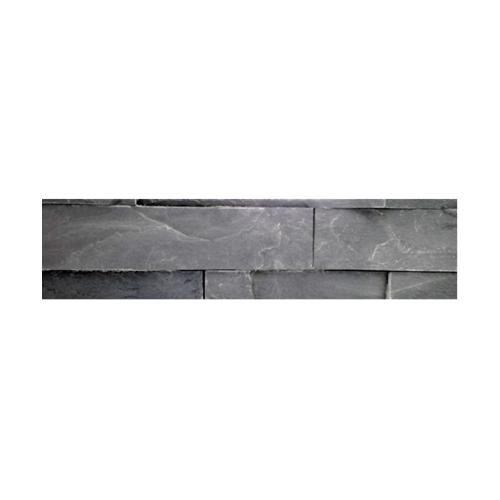 หินธรรมชาติ 7x30 หินกาบจิ๊กซอดำอินเดีย NSD-GSE-001-0730