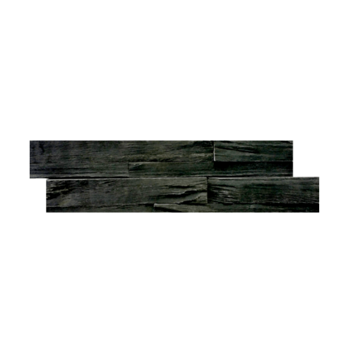 หินธรรมชาติ 15x60 หินกาบจิ๊กซอดำเปลือกไม้   NSD-GSE-003-1560
