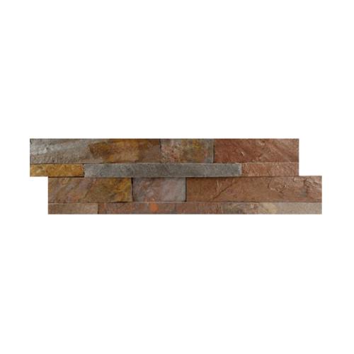 หินธรรมชาติ 15x60 หินกาบจิ๊กซอคอปเปอร์ ควอตซ์   NSD-GSE-019-1560