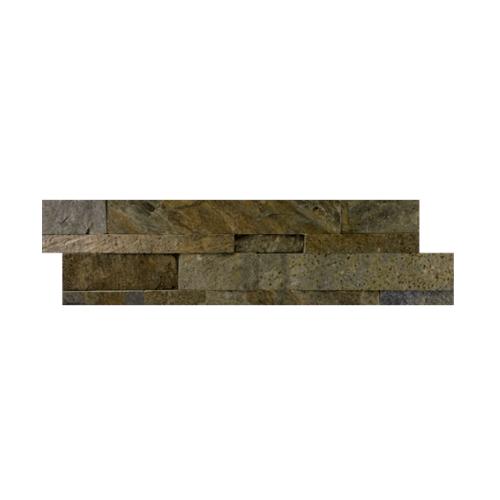 หินธรรมชาติ 15x60 หินกาบจิ๊กซอซีบร้ากรีน  NSD-GSE-024-1560