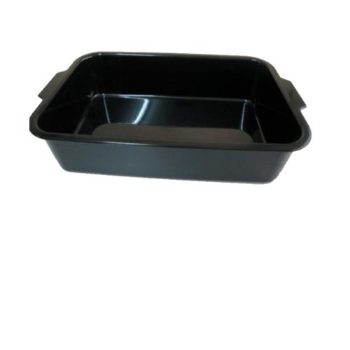 ตรารถถัง ถาดยางพลาสติก  PTRAY-TNK สีดำ