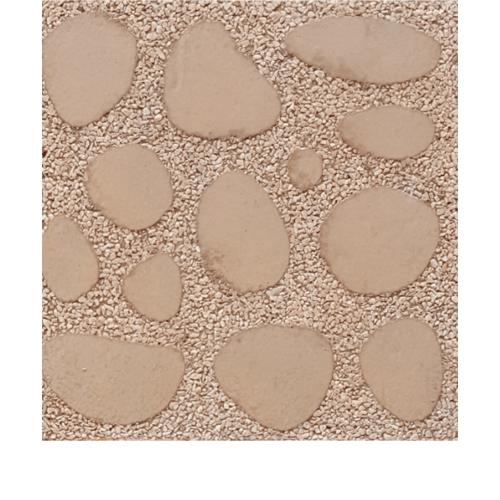 CONTEXTURE หินล้างแกะลายขนาด30x30x3.2ซม.   หินกรวด  001  สีน้ำตาล