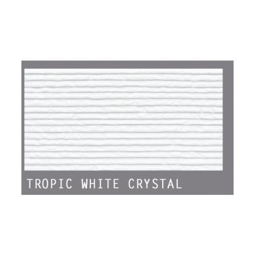 กระเบื้องภชา กระเบื้องแกรนิตโต้ TROPIC WHITE CRYSTAL สีขาว