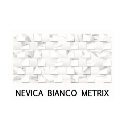 กระเบื้องภชา กระเบื้องแกรนิตโต้ NEVICA BIANCO CRYSTAL สีขาว