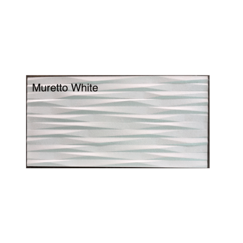 กระเบื้องภชา กระเบื้องแกรนิตโต้ MURETTO WHITE CRYSTAL สีขาว