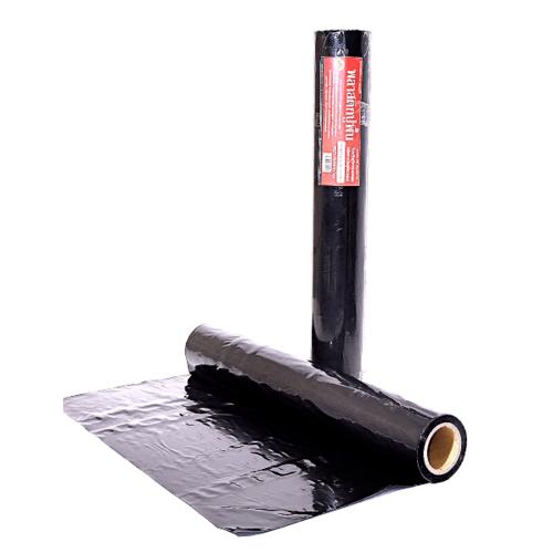 POLLO ผ้าพลาสติกปูบ่อ 3.6ม.x40หลา100ไมครอน NYC-RB010Black สีดำ