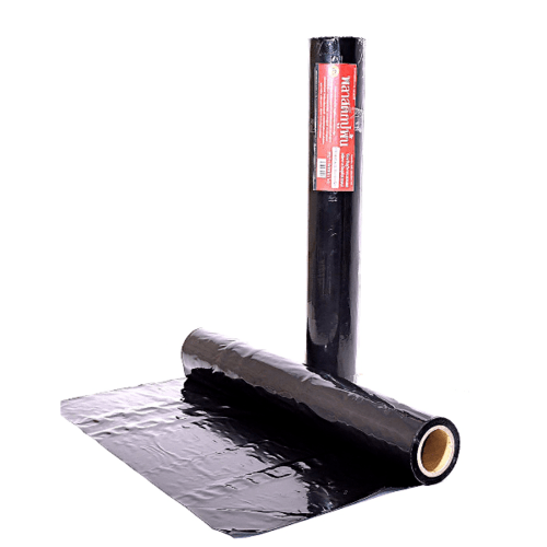 POLLO ผ้าพลาสติกปูบ่อ 3.6ม.x40หลา150ไมครอน(ดำ) NYC-RB015Black สีดำ