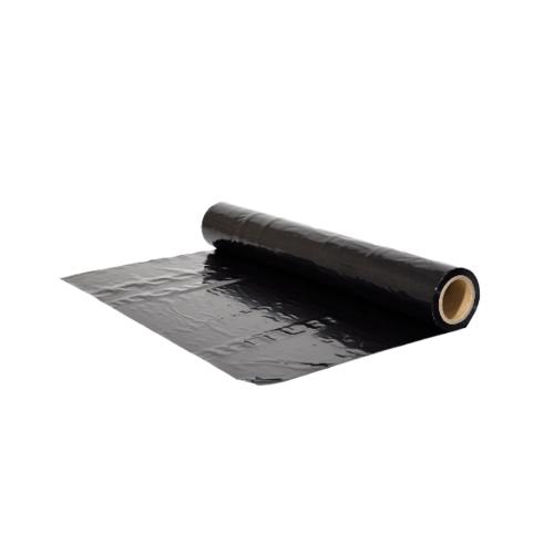 POLLO พลาสติกคลุมเห็ด0.05mm.x1.5m.x20m.สีดำ NYC-HLK005-20 สีดำ